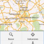 App Google Map Pantallazo
